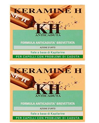 Keramine H,KH Fiala Anticaduta per Capelli, 2 CONFEZIONE DA 12 Monodose