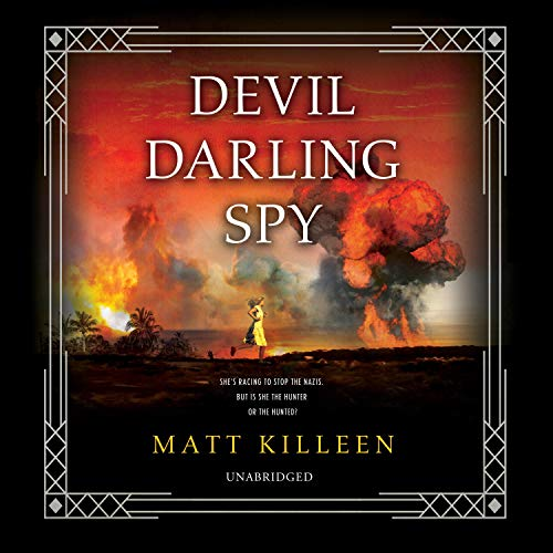 Devil Darling Spy audiobook cover art