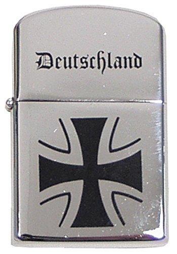 MFH Sturmfeuerzeug Feuerzeug Taschenfeuerzeug Benzinfeuerzeug Metallfeuerzeug verschiedene Farben (Deutschland)