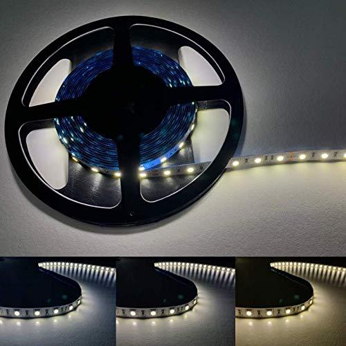 Ruban LED 5M 24V 5050 IP20 60LED/m - Blanc Neutre 4000K - 5500K - SILAMP