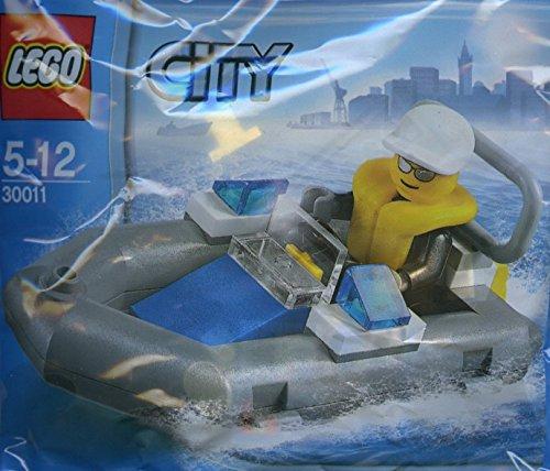 LEGO City: Polizei Schlauchboot Dinghy 30011