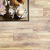 Pavimento in pvc effetto legno Altezza 100 cm pavimento pvc legno per interno esterno PREZZO AL MQ! pavimento pvc parquet alta resistenza adatto a tutti gli spazi abitativi (DYNASTY PIN OAK 619M)
