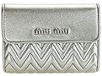 [ミュウミュウ] MIUMIU 財布 折財布 二つ折り ミニ レザー 5ML002 [並行輸入品]