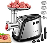 Electric Meat Grinder, Aobosi 3-IN-1 Meat Mincer & Sausage Stuffer,【1200W Max】Sausage & Kubbe...