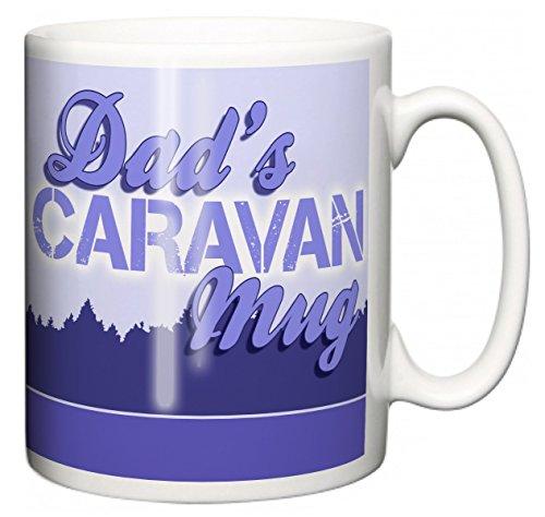 """IiE, Dad\'s Caravan Mug \"""", mit Aufschrift\"""" I love my Wobble-Box, camping, Kaffee oder Tee Tasse"""
