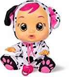 Bebés Llorones Dotty - Muñeca Interactiva que llora de verdad con chupete y pijama de Dalmata