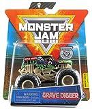 Monster Jam 2020 Spin Master 1:64 Diecast Monster Truck with Wristband: Bone Yard Trucks Grave Digger