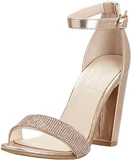 rose gold bridesmaid heels