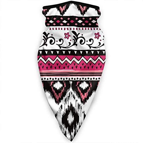 Zome Lag Tribal Ethnic Print Diademas para Exteriores,Magic Diadema,Hombres Mujeres Bandanas,Paño De Manguera,Bufanda Multifuncional