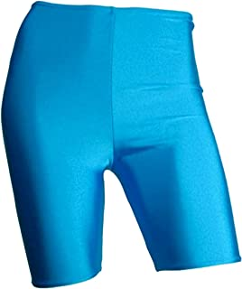 New Ladies Cycling Gym Animal Stretch Shorts Elastic Womens Hot Dance Pants 8-22