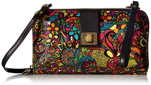 Sakroots womens Women's Artist Circle cross body handbags, Rainbow Spirit Desert, One Size US