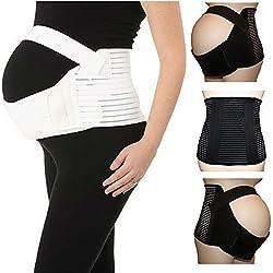 top rated Maternity Belt Abdomen Belt Abdomen Belt Maternity Belt Black 2XL 2021