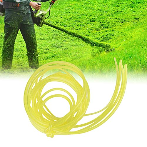 Cafopgrill Petrol Strimmer Fuel Pipe, 1.5M Gas Petrol Fuel Line Hose Gas Oil Tube Pipe with 4 Different Size 8 Pcs Fuel Filters for Mower Strimmer Chainsaw Blower