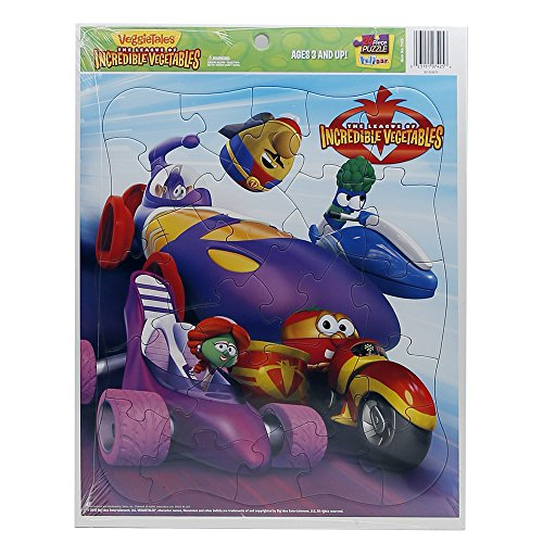 Talicor 7425 VEGGIETALES - Inlaid Puzzle - League of: ICREDIBLE CARS