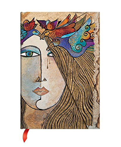 Paperblanks Notizbuch mit Lesebändchen & Innentasche | Seele und Tränen | Midi (180 x 130 mm) | 160 Seiten | Liniert