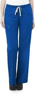 WonderWink Women's Petite-Plus-Size Wonderwork Straight Leg Cargo Scrub Pant