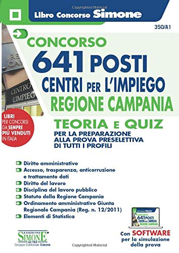 Concorso 641 posti Centri per l'impiego Regione Campania - Teoria e Quiz
