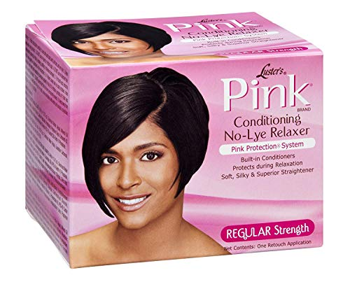 Lusters Pink Oil Hair Relaxer Kit, Pack of 3