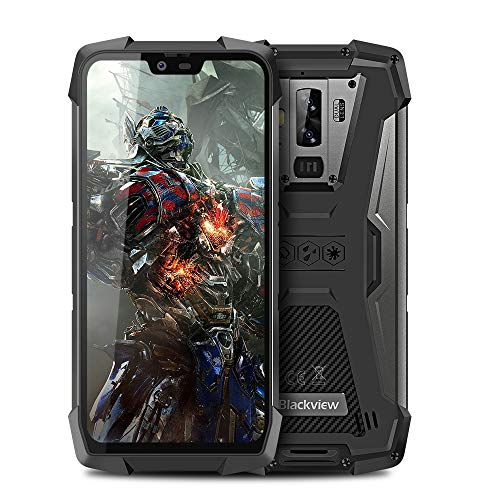 Blackview BV9700 Pro Outdoor Handy Ohne Vertrag, Dual SIM 6GB RAM+128GB ROM, 16MP+8MP+16MP, 5,84 Zoll FHD Display, 4380mAh Akku Robusts Handy