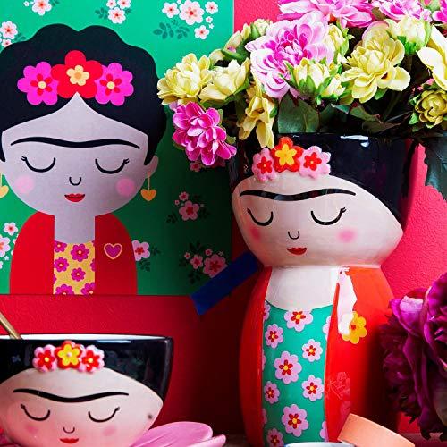 Sass & Belle Blumenvase Kahlo, Mehrfarbig, Einheitsgröße