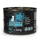 catz finefood Purrrr Schaf Monoprotein Katzenfutter nass N° 113, für ernährungssensible Katzen, 70% Fleischanteil, 6 x 200 g Dose