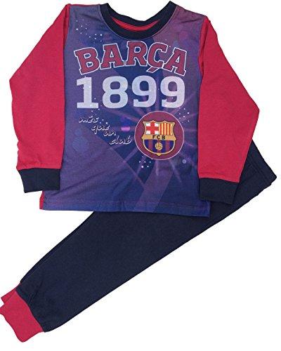 Barcelona F.C. - Pijama Dos Piezas - niño Azul Azul