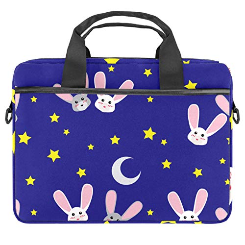 Laptop Bag Bunny RABIT Animal Notebook Sleeve with Handle 13.4-14.5 inches Carrying Shoulder Bag Briefcase