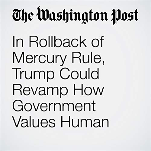In Rollback of Mercury Rule, Trump Could Revamp How Government Values Human Health copertina