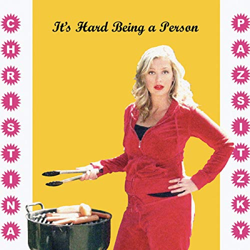 It's Hard Being a Person audiobook cover art