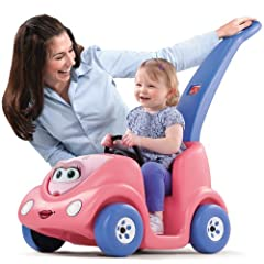 Celebrate the 10th Anniversary of the Push Around Buggy with this new pink edition Cute character buggy for enjoyable push and ride fun Designed with storage space under the hood for snacks and toys Features seatbelt to keep you little one safe durin...