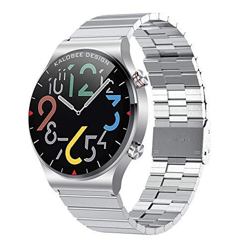 BNMY Smartwatch Llamada Bluetooth Pantalla De 1,3 Pulgadas Reloj Inteligente Impermeable IP68 con Pulsómetros para Mujer Hombre, Pulsera De Actividad Inteligente,G
