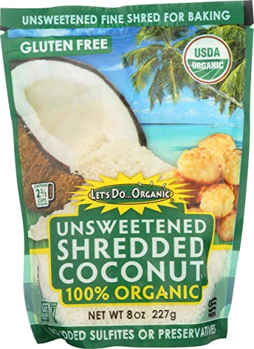 Let's Do Organic, Shredded Coconut, 8 oz