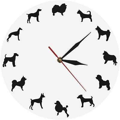 CHANGWW 1 Pieza máquina de Tatuaje Reloj de Vinilo Reloj de Pared ...
