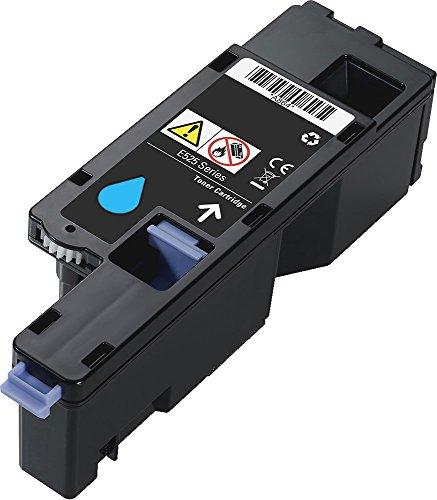 1x Toner kompatibel für Dell E525 E525W | 593-BBLL | 1x Tonerkartusche cyan