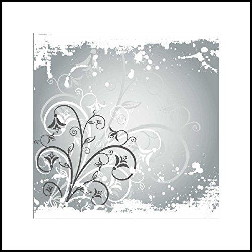 Fliesenaufkleber Fliesentattoos für Bad & Küche - Küchenfliesen für einzelne Fließen 10x10 cm - MF284 - schönes Ornament