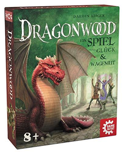 Game Factory 646213 Dragonwood, EIN Spiel voll Glück und Wagemut, Kartenspiel für Freunde und Familie, für Kinder ab 8 Jahren