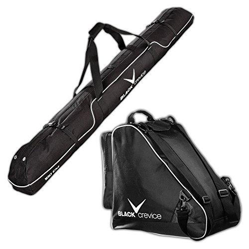 Black Crevice Skitasche und Skischuhtasche im Set, schwarz, BCR083720