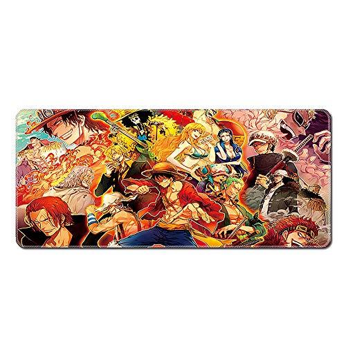 Gaming Mauspad | 900 X 400x3mm | XXL Tischunterlage |One Piece Mouse Pad|glatte Oberfläche, Rutschfestes Gummi, Mauspad Mit Designs Für Gamer Und Büroarbeit