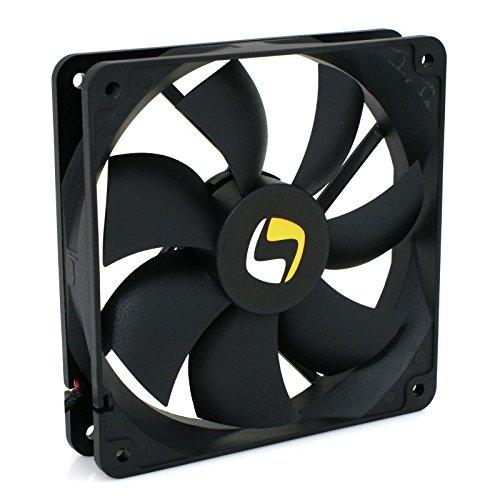 Desconocido SilentiumPC p?íd.ventilátor Mistral 120,120mm Fan