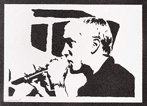 Poster Eminem Grafiti Hecho a Mano - Handmade Street Art - Artwork