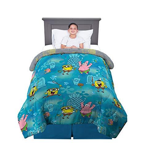 Franco NL2998 Kids Bedding Super Soft Microfiber Reversible Comforter, Twin/Full Size 72