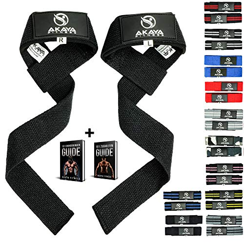 bonus Bodyworks Comfort lifting straps zughilfen rembourré