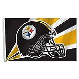 NFL Pittsburgh Steelers Flagge, 91 x 152 cm