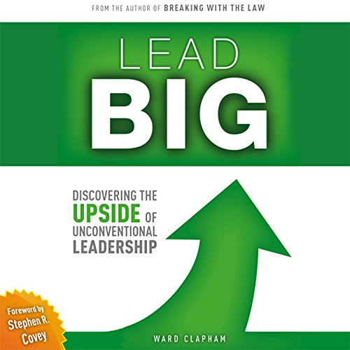 『Lead Big: Discovering the Upside of Unconventional Leadership』のカバーアート