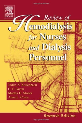 Download Review of Hemodialysis for Nurses and Dialysis Personnel (Review of Hemodialysis for Nurses & Dialysis Personnel) 0323028713