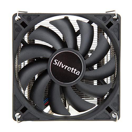 Alpenföhn - Silvretta 92mm mit 1 PWM Lüftern 95W TDP, CPU Kühler aben einen Maximalen 2800RPM Lüfter Kompatiblen Kühler Innenraum PC Gehäuse