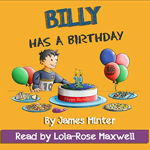 Billy Has a Birthday audiobook cover art