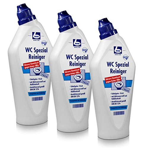 3x Dr. Becher WC Spezial Reiniger 750 ml
