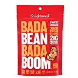 Bada Bean Bada Boom Plant-based Protein, Gluten Free, Vegan, Non-GMO, Soy Free, Kosher, Roasted Broad Fava Bean Snacks, Sriracha, 3 Ounce (6 Count)
