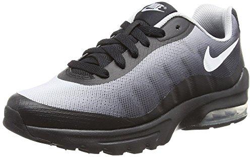 Nike Air Max Invigor Print (GS), Chaussures de Running Compétition Homme, Noir (Black/White-Wolf GRE 001), 40 EU